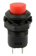 5 x Red Off(On) Momentary Push Button Switch Horn Doorbell Car Dash 12V