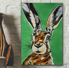 "Mad Hare Decorative Ceramic Picture Tile Kitchen Wall Art Plaque 8x12"" NEW 05212"