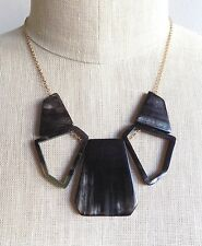 Altitude Black Horn Manhattan Necklace Faire Collection Anthropologie