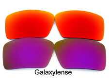 Galaxy Replacement Lenses For Oakley Eyepatch 1&2 Red&Purple Polarized 2Pairs