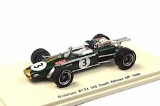 BRABHAM BT24 3RD SOUTH AFRICA 1968 JOCHEN RINDT 1:43 SPARK S4337 RESIN NEW MODEL