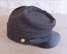 Confederate Richmond Gray Kepi,Civil War Hat,US Made, New