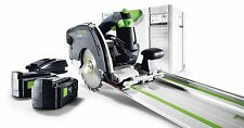 Festool Cordless Circular Saw HKC 55 EB-Set-FS 240v 201376 FREE NEXT DAY DEL