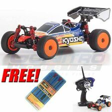Kyosho MINI-Z Sports Buggy MB-010S INFERNO MP9 TKI3 Blue/Red RS W/ Free Tool Set