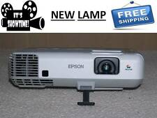 Epson PowerLite 93+ Multimedia Projector  Home/School HDMI, USB with NEW LAMP