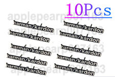 (10) Quality Harman Kardon Speaker Logo Decals Badge Sticker for BMW MINI COPPER