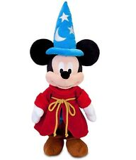 "DISNEY 24"" PLUSH MICKEY MOUSE SORCERER'S APPRENTICE FANTASIA MEDIUM STUFFED DOLL"
