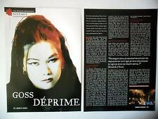 COUPURE DE PRESSE-CLIPPING :  SINERGY[2pages]2000 Kimberly Goss,To Hell And Back
