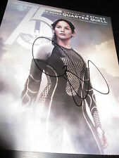 JENNIFER LAWRENCE SIGNED AUTOGRAPH 8x10 HUNGER GAMES CATCHING FIRE PROMO PROOF H