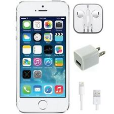 Straight Talk Apple iPhone 5S 16GB 4G White/Silver LTE Prepaid Smartphone
