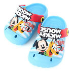 Disney Mickey Mouse Blue Crocs Style Comfortable Kids Beach Sandal Slippers