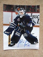 FELIX POTVIN Toronto Maple Leafs Autographed 8x10 photo