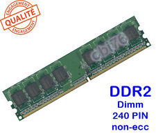 Mémoire 1GO DDR2 PC2-4300 CL4 Apacer 240PIN 533MHZ 16puces 1GB 75.063A3.G01