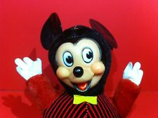 VINTAGE MICKEY MOUSE TOY GUND ROLY POLY CHIME DOLL DISNEY PRODUCTIONS ANTIQUE