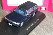 TOYOTA MARKII WAGON LG 1988 DARK BLUE DISM 0079034 1/43 RHD RIGHT HAND DRIVE