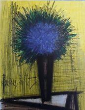 Bernard Buffet - lithographie signée et référencée - Le Bouquet Bleu #MOURLOT
