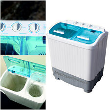 Portable Camping Caravan Travel 3.5kg Washing Machine & 2.5kg Spin Dryer Drying