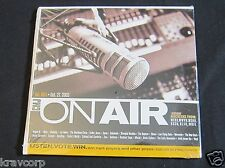 COHEED & CAMBRIA/ELBOW/THE RAPTURE 'CMJ ON AIR' 2003 PROMO 2-CD SAMPLER—SEALED