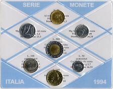 REPUBBLICA ITALIANA - SERIE MONETE ITALIA DIVISIONALE 1994 _ FDC