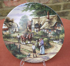 """Wedgwood  """"Country Days""""  Ploughing   Plate"""