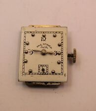 Working  complete Paul Ditisheim .  Solvil watch movement 17 j. 17.4mm x 25mm