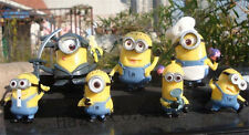 sets of 7pcs Despicable Me MINIONS Movie Toys Figures NN*