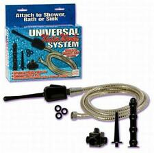 Universal Water Works System Douche Enema Shower / Sink