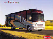2009 Winnebago Adventurer Motorhome Camper Original Car Sales Brochure Catalog