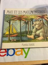 Max Et Les Maximonsters By Maurice Sendak.  Septembre 1990 French Edition