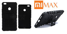 COMBO ★ RUGGED ARMOR BACK CASE COVER ★ TEMPERED GLASS PROTECTOR ★ XIAOMI MI MAX