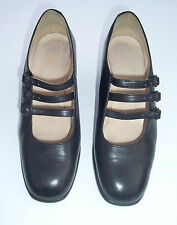 VINTAGE 90's BLACK LEATHER SHOES FROM FAITH SIZE 7