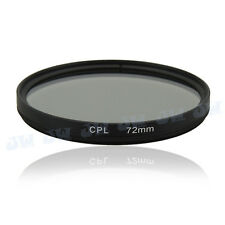 72mm CPL Circular Polarizing Filter Lens Protector For Canon Nikon Sony Olympus