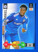 TRADING CARD CHAMPIONS LEAGUE 2009-2010 - OBI MIKEL - CHELSEA - N.48
