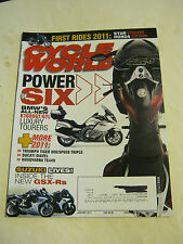 January 2011 Cycle World Magazine, Power Of Six  VF  (BD-4)