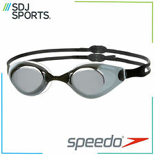 SPEEDO AQUAPULSE MIRROR ADULT SWIMMING GOGGLES BLACK/SMOKE