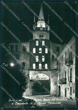 Torino Susa Porta Paradiso Campanile San Giusto Foto FG cartolina KF1571