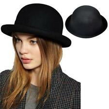 Fashion Lady Vogue Vintage Women Wool Cute Trendy Bowler Derby Hat Latest Style