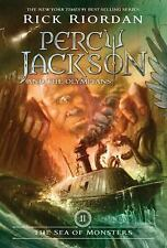 PERCY JACKSON & THE OLYMPIANS BK 2 SEA OF MONSTERS RIORDAN '07 PaperBack REVISED