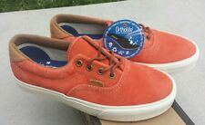 Vans Era 59 CA Pig Suede Orange Rust Sz 4 NIB OTW Authentic Salmon Pink
