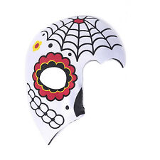 "Women's Day Of The Dead Halloween Sugar Skull Half Face Eye Mask - ""Valeria"""