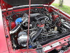 1992 Mustang 5.0 Single Turbo Kit Foxbody System 92 LX GT Notchback Notch