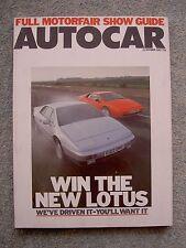 Autocar (21 Oct 1987) Lotus Esprit, Elan, Evante, TVR S, 420 SEAC, RAM V8 Cobra