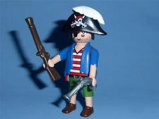 Playmobil Pirate with weapons for Ship or Island Figure  series 8 Male  NEW 5596