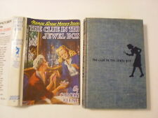 Nancy Drew #20, The Clue in the Jewel Box, DJ, 1950s