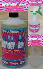caravan cleaner Wonder Wash 1Ltr Concentrated  Cleaner 3 Piece Cleaning Kit