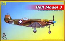 Unicraft Models 1/72 BELL MODEL 3 Airacobra with Front Mounted Engine