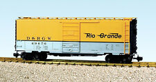 USA Trains G Scale R19209a RG W/6' PANEL SUPERIOR - YEL/S PS1 Box Car