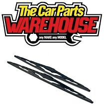 2 x 14 Inch Brand New Conventional Windscreen Wiper Blades Pair Free Delivery