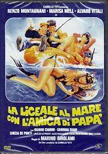 Dvd LA LICEALE AL MARE CON L'AMICA DI PAPA' con Alvaro Vitali R. Montagnani 1980
