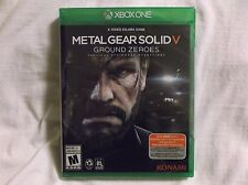 Metal Gear Solid V. Ground Zeroes. Tactical Espionage Operations.  X-Box One!!